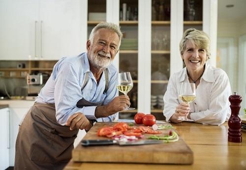 Seniors in Kitchen